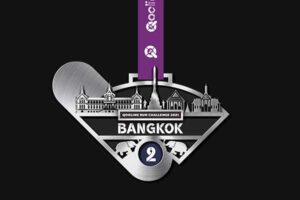 QooLine Run Challenge 2021- Medal for Bangkok