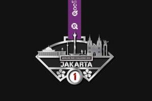 QooLine Run Challenge 2021- Medal for Jakarta