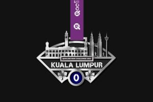 QooLine Run Challenge 2021- Medal for Kuala Lumpur
