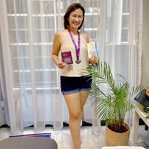Diana Wibisono - 5th Prize 5KM Women's