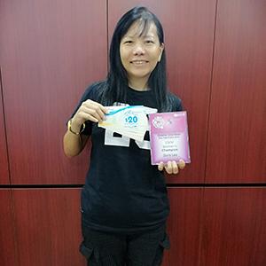 Doris Lee - 1st Prize 10KM Women's