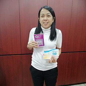 Yenn Lagap - 4th Prize 5KM Women's