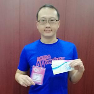 Leong Quor Hahn - 3rd Prize 5KM Men's