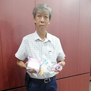 Michael Leong - 2nd Prize 5KM Men's